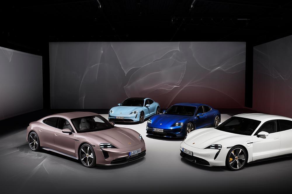 Porsche taycan gamme