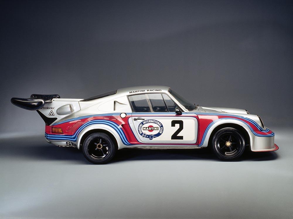 Porsche turbo rsr profil