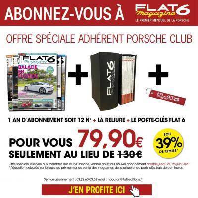 Offre adhérent Porsche Club FR
